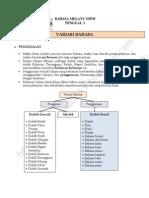 Nota - Variasi Bahasa