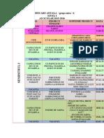 Planificarea Activitatilor La Grupa Mica