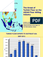 The Threat of Turkish Flour in ASEAN