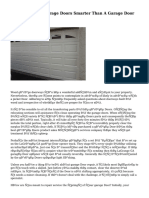Replacing Your Garage Doors Smarter Than A Garage Door Repair Business?
