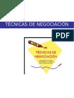 Tecninas de Negociacion - Terminado