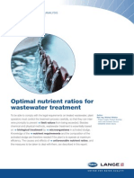 Wastewater Nutrient Ratio-HACH