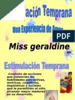 Estimulacion Temprana - Geraldine