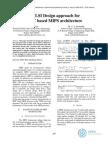 A VLSI Design based on MIPS Instruction approach