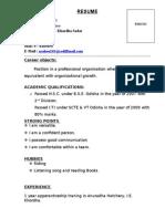 Resume Mail