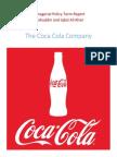 The Coca Cola Company Analysis