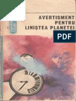 Antologie - Avertisment pentru linistea planetei.pdf