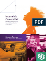 Internship Fair 2015 Brochure