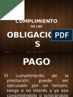 CUMPLIMIENTO DE LAS OBLIGACIONES.ppt