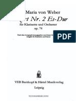 Weber - Klarinet concerto No.2.pdf