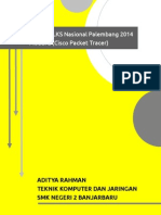 Pembahasan Soal LKS Nasional Palembang 2014 Modul 2 (Cisco Packet Tracer)