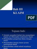 KLAIM (BARU)