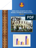 CMP Necesidad de RRHH 2005-2011