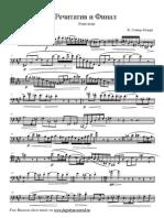 Semler - Rechitativo Xa Fagot y Piano