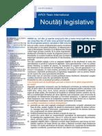 APEX Team Noutati Legislative 8 2015