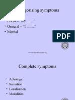 Symptom Ranking