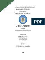 Franchising - Mongrafia