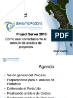 Project Server 2010-Como Usar Analisis