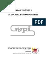 1.1.1.UT2 La DIP. Project Management 01092014