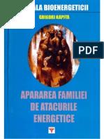 Apararea Familiei de Atacurile Energetice-Grigori Kapita
