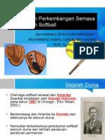 Sejarah Perkembangan Permainan Softball