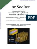 Microfluidic Lab on a Chipplatform Chem Rev