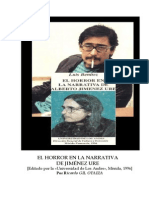 Gil Otaiza Sobre El Horror en La Narrativa de Jiménez Ure