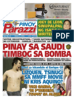 Pinoy Parazzi Vol 8 Issue 121 October 05 - 06, 2015