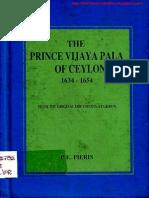 257763569 the Prince Vijayapala of Ceylon 1634 1654