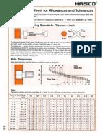 HASCO 2014 - Allowances Tolerances ISO286