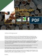 Bamboo Processing Furniture Manual PDF