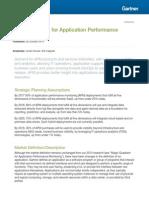 Magic Quadrant for Applicati 262851