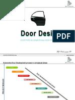 Car Door Types and Study