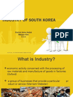 Industry of South Korea
