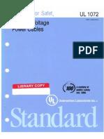 UL 1072 1995 01
