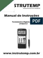 Termometro Digital Pt100 ITTM-917