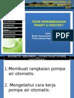 Teori Pembelajaran Piaget & Vigotsky)