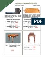 E- Brochure - CosmicAyur's Traditional Ayurveda Panchakarma Equipments