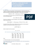 2015 Solution Exercises MLR Error Propagation