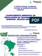 2º Congresso Técnico Brasil-Alemanha Gestão Sustentável de Resíduos Sólidos Urbanos