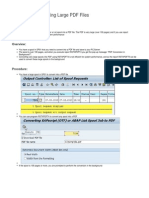 Converting Large PDF File