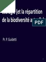 Cours 8-9-10 PG OBE - Intro Ecologie Et Principes