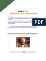 Clase Unidad 3 PSCOLOGIA CLINICA ADULTOS