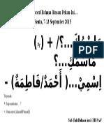 Password Bahasa Binsan Pekan 7-13 Sep