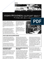 Vegan Prisoners Support Group Newsletter (Oct 2009)