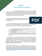 Mercado Financiero Internacional