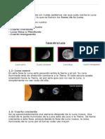 Fases de La Luna Tercero