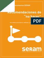Recomendaciones SERAM SocEspRadMed- v7