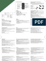 Guía de usuario celular LG GS107 Claro Chile