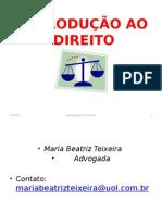 Introducao Ao Direito II 2013